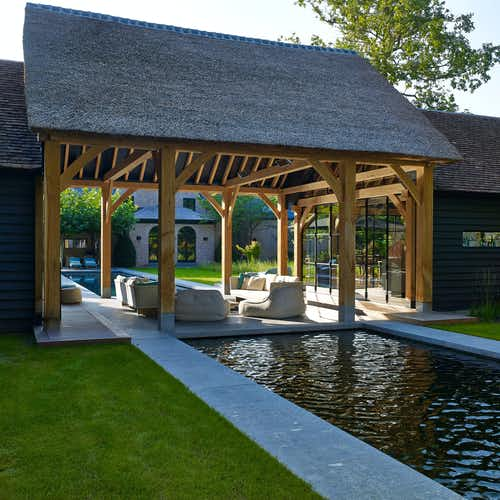 Heritage Buildings - Poolhouse & Gastenverblijf